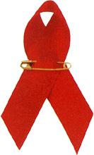 エイズに対する理解と支援の象徴レッドリボン